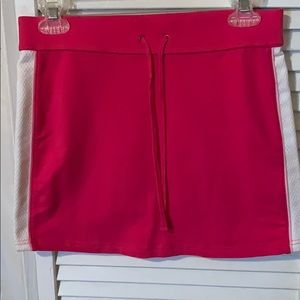 Hot pink Express Skirt w/ tie waist